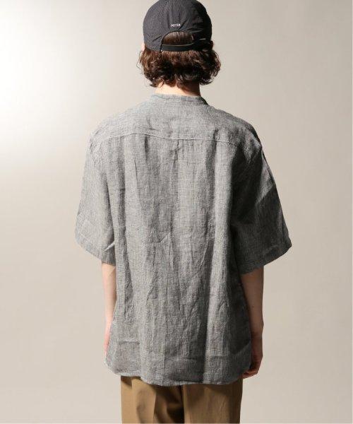 JOURNAL STANDARD relume Men's(ジャーナルスタンダード レリューム メンズ)/Linen Panama バンドカラーシャツ/19051464310010_img31