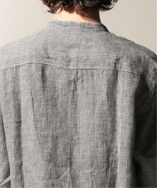 JOURNAL STANDARD relume Men's(ジャーナルスタンダード レリューム メンズ)/Linen Panama バンドカラーシャツ/19051464310010_img33