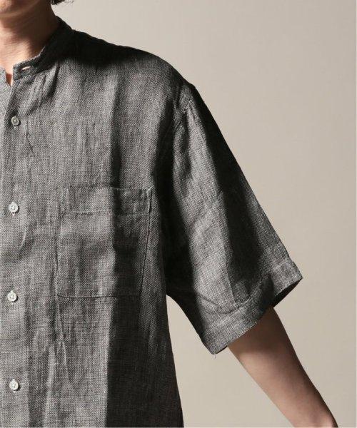 JOURNAL STANDARD relume Men's(ジャーナルスタンダード レリューム メンズ)/Linen Panama バンドカラーシャツ/19051464310010_img34
