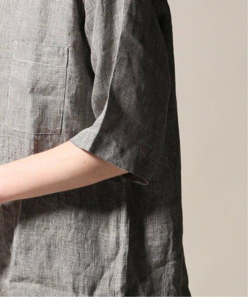 JOURNAL STANDARD relume Men's(ジャーナルスタンダード レリューム メンズ)/Linen Panama バンドカラーシャツ/19051464310010_img35