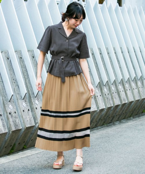 URBAN RESEARCH OUTLET(アーバンリサーチ アウトレット)/【KBF+】ラインプリーツニットスカート/KP9425N010_img09