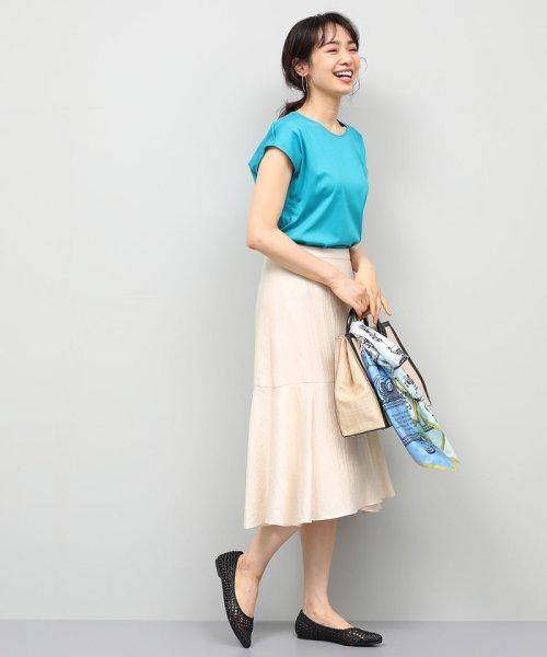 ROPE'(ロペ)/【UVカット】コットンスムースTシャツ/GGM29540_img03
