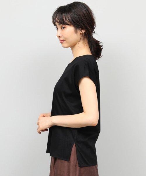 ROPE'(ロペ)/【UVカット】コットンスムースTシャツ/GGM29540_img04