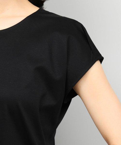 ROPE'(ロペ)/【UVカット】コットンスムースTシャツ/GGM29540_img07