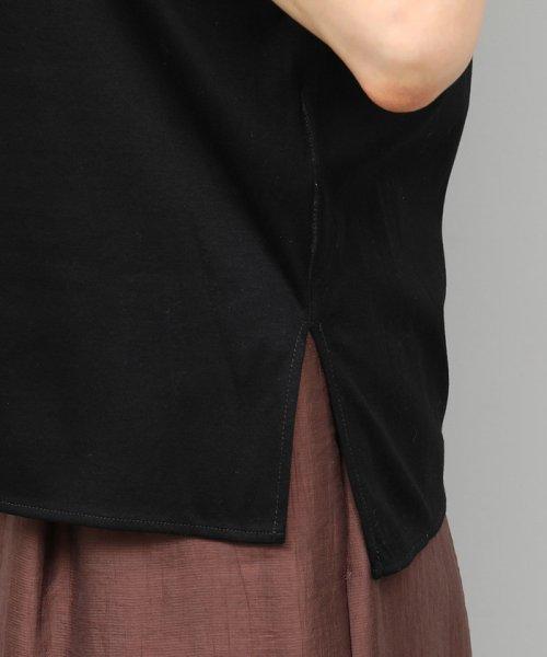ROPE'(ロペ)/【UVカット】コットンスムースTシャツ/GGM29540_img08