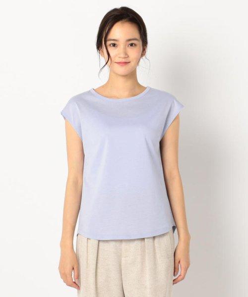 fredy emue(フレディエミュ)/リネン混フレンチTシャツ/9-0021-3-23-001_img01