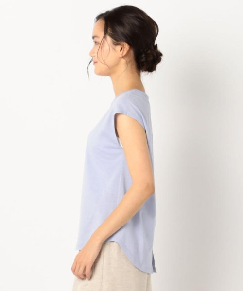 fredy emue(フレディエミュ)/リネン混フレンチTシャツ/9-0021-3-23-001_img02