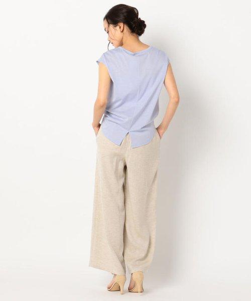 fredy emue(フレディエミュ)/リネン混フレンチTシャツ/9-0021-3-23-001_img08