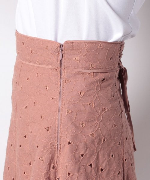 Apuweiser-riche(アプワイザー リッシェ)/【美人百花7月号掲載】カットワーク刺繍スカートSET/29261900_img11