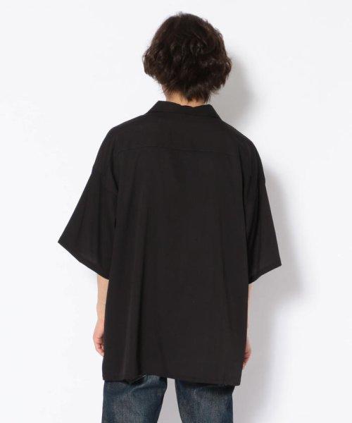 LHP(エルエイチピー)/Clut/クルト/ビッグサイズプリントオープンカラーシャツ/6016193405-60_img02