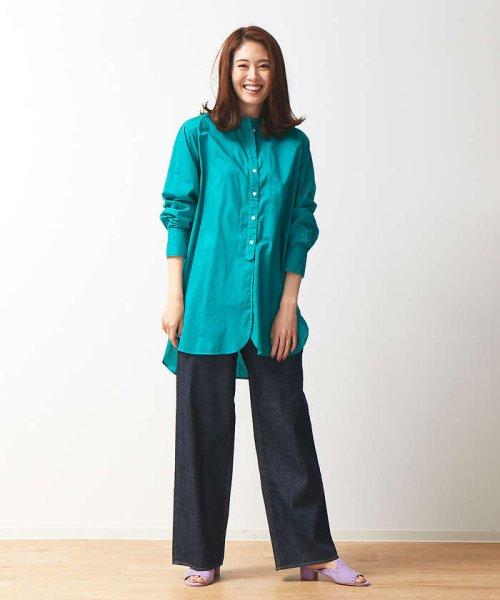 collex(collex)/製品染めチュニックシャツ/60380605011_img13