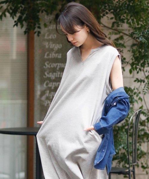 Girly Doll(ガーリードール)/ノースリーブロングワンピース/GHI19S004_img29