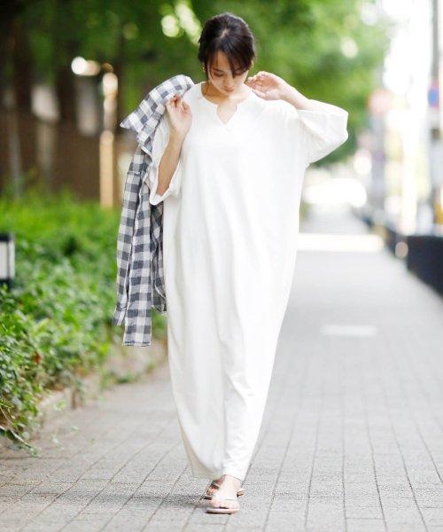Girly Doll(ガーリードール)/ポケット付きゆったりロングワンピース/GHI19S005_img58