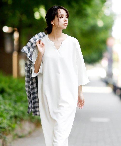 Girly Doll(ガーリードール)/ポケット付きゆったりロングワンピース/GHI19S005_img59