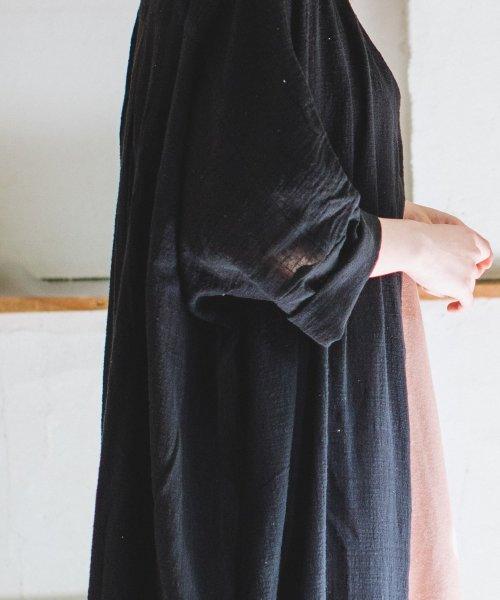 pairmanon(ペアマノン)/【ママサイズ】シングルガーゼ シャツ ワンピース/BH19SMOP12_img05