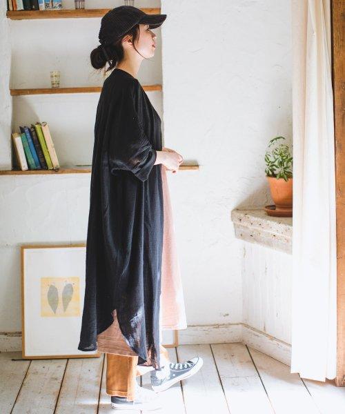 pairmanon(ペアマノン)/【ママサイズ】シングルガーゼ シャツ ワンピース/BH19SMOP12_img06