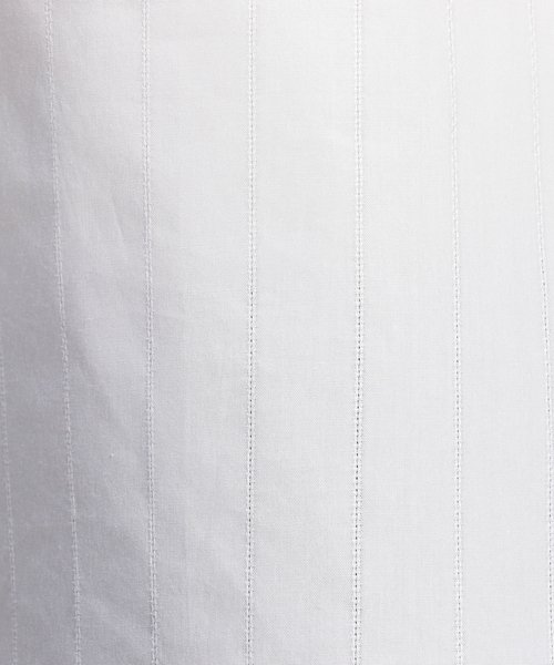 NARA CAMICIE(ナラカミーチェ)/ストライプアイレットスクエア七分袖ブラウス/109102067_img10