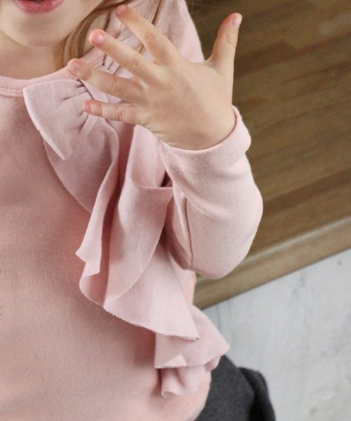 Rora(ローラ)/Rora ボニト フリルリボンT/10002369_img09