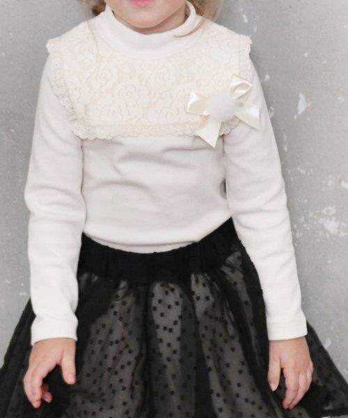 Rora(ローラ)/Rora ミオ 長袖カットソー (リボンブローチセット)/10006035_img04
