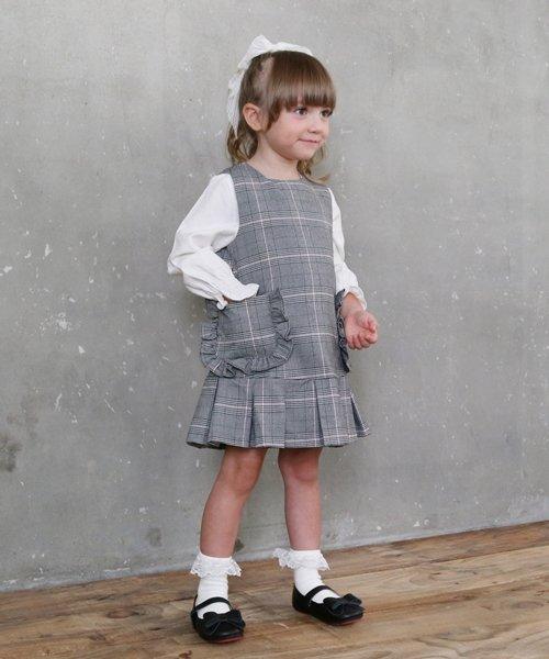 Rora(ローラ)/Rora マノン ジャンパースカート100/10006044_img03