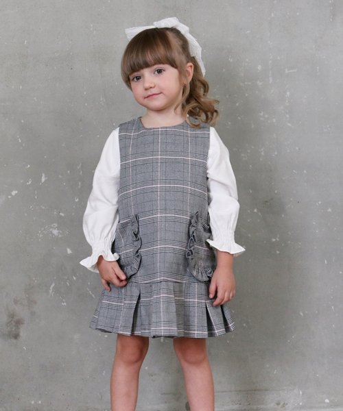 Rora(ローラ)/Rora マノン ジャンパースカート100/10006044_img04