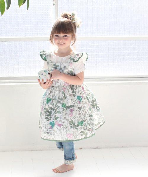 Rora(ローラ)/ジニ エプロン ドレス/5010-19-55_img03