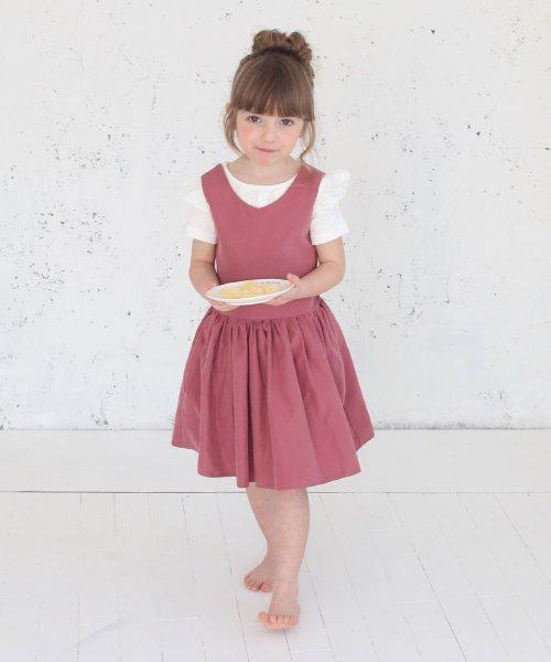 Rora(ローラ)/チェルシー エプロン ドレス(2color)/5012-19-55_img01