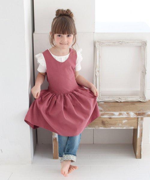 Rora(ローラ)/チェルシー エプロン ドレス(2color)/5012-19-55_img03