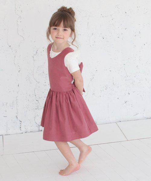 Rora(ローラ)/チェルシー エプロン ドレス(2color)/5012-19-55_img08