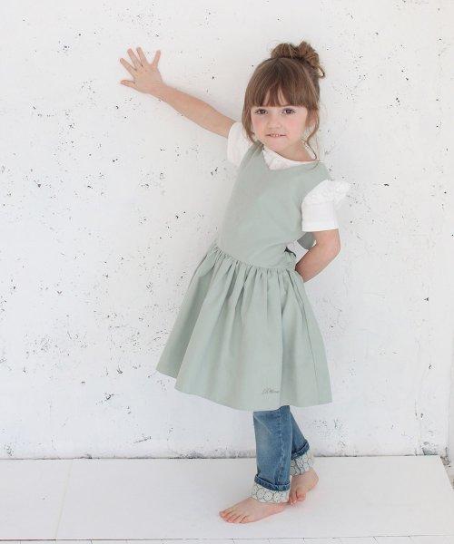Rora(ローラ)/チェルシー エプロン ドレス(2color)/5012-19-55_img12