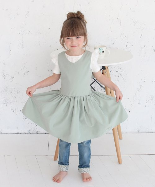 Rora(ローラ)/チェルシー エプロン ドレス(2color)/5012-19-55_img13