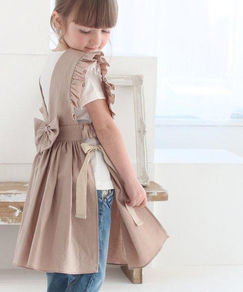 Rora(ローラ)/ジャミー エプロン ドレス(2color)/5015-19-55_img01