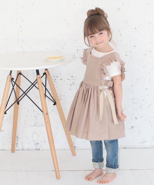 Rora(ローラ)/ジャミー エプロン ドレス(2color)/5015-19-55_img05