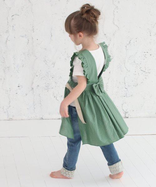 Rora(ローラ)/ジャミー エプロン ドレス(2color)/5015-19-55_img07