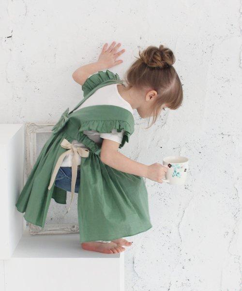 Rora(ローラ)/ジャミー エプロン ドレス(2color)/5015-19-55_img08