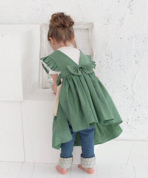 Rora(ローラ)/ジャミー エプロン ドレス(2color)/5015-19-55_img10