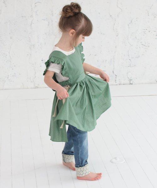 Rora(ローラ)/ジャミー エプロン ドレス(2color)/5015-19-55_img11