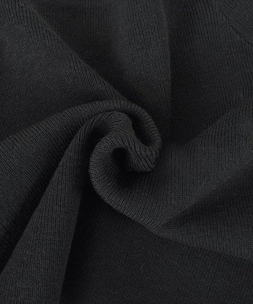 felt maglietta(フェルトマリエッタ)/ニット半袖ボーダーショート丈トップス/3817_img11