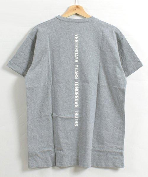 felt maglietta(フェルトマリエッタ)/コットン素材バック英字プリントTシャツ/am200_img10