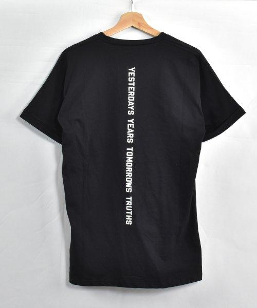 felt maglietta(フェルトマリエッタ)/コットン素材バック英字プリントTシャツ/am200_img13