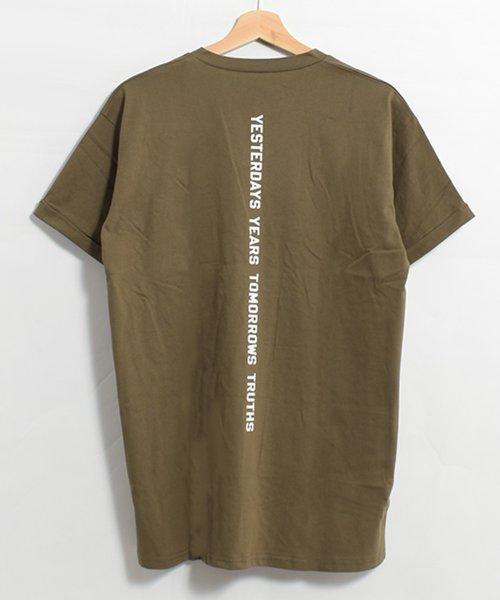 felt maglietta(フェルトマリエッタ)/コットン素材バック英字プリントTシャツ/am200_img15
