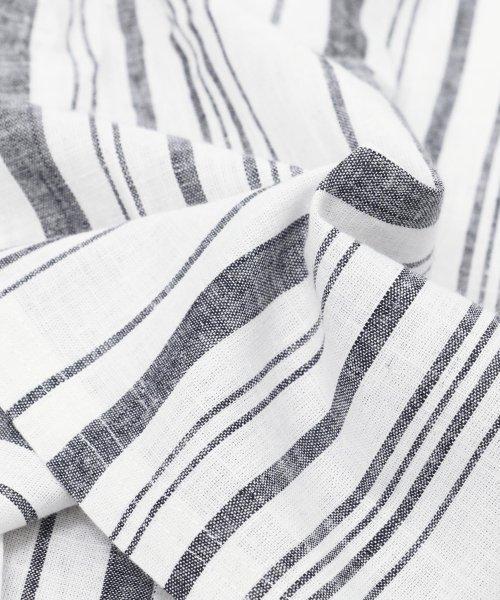 mili an deni(ミリアンデニ)/レディース セットアップ 綿麻 半袖 ワイドパンツ テーパードパンツ ストライプ トップス/s60903dh_img29