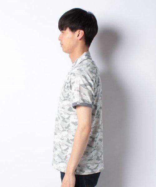 MARUKAWA(マルカワ)/カノコ カモフラ柄 ポロシャツ/0142350055_img01