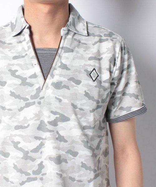 MARUKAWA(マルカワ)/カノコ カモフラ柄 ポロシャツ/0142350055_img03