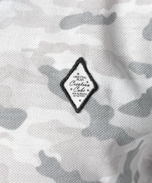 MARUKAWA(マルカワ)/カノコ カモフラ柄 ポロシャツ/0142350055_img07