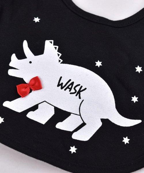 WASK(ワスク)/〈ベビー〉恐竜プリントリバーシブルスタイ/1354155591_img03