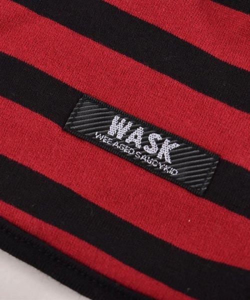 WASK(ワスク)/〈ベビー〉恐竜プリントリバーシブルスタイ/1354155591_img04