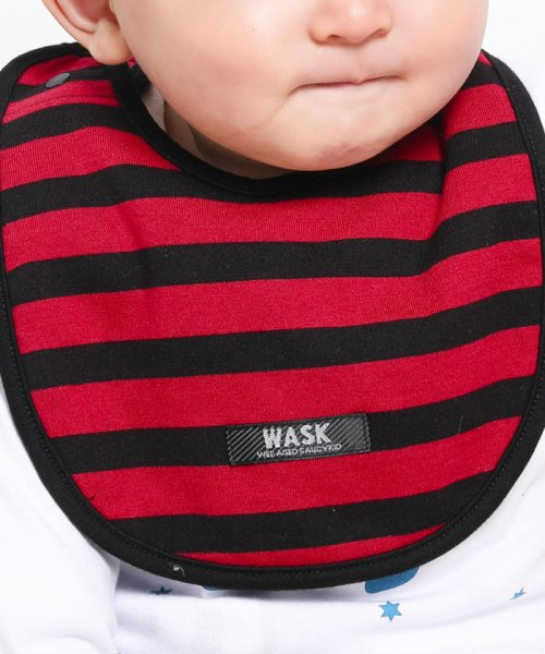WASK(ワスク)/〈ベビー〉恐竜プリントリバーシブルスタイ/1354155591_img12