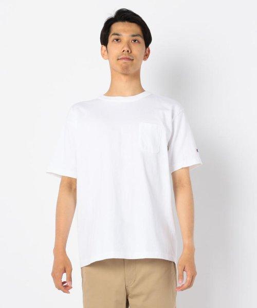 GLOSTER(GLOSTER)/【Champion/チャンピオン】T1011 ポケット付き US Tシャツ/9-0670-2-53-010_img02