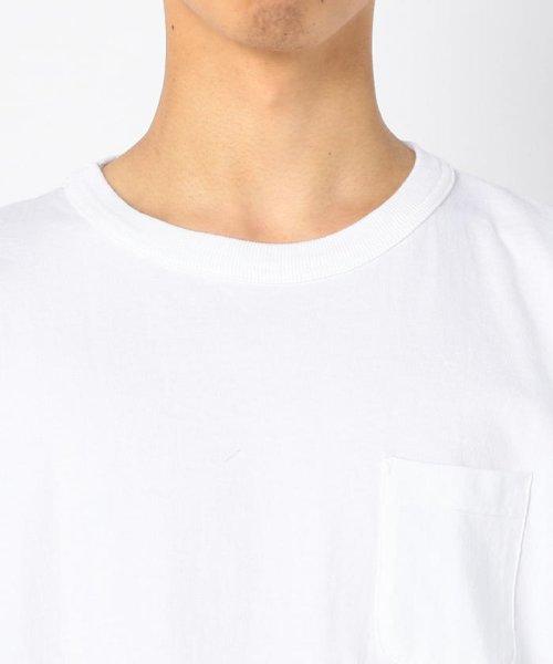 GLOSTER(GLOSTER)/【Champion/チャンピオン】T1011 ポケット付き US Tシャツ/9-0670-2-53-010_img05